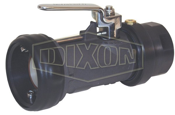 Bayonet Style Dry Disconnect Straight Swivel Coupler x Female NPT