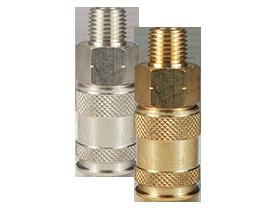 CJ-Series Pneumatic Male Thread Coupler