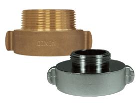 Hydrant Adapter Rocker Lug Brass