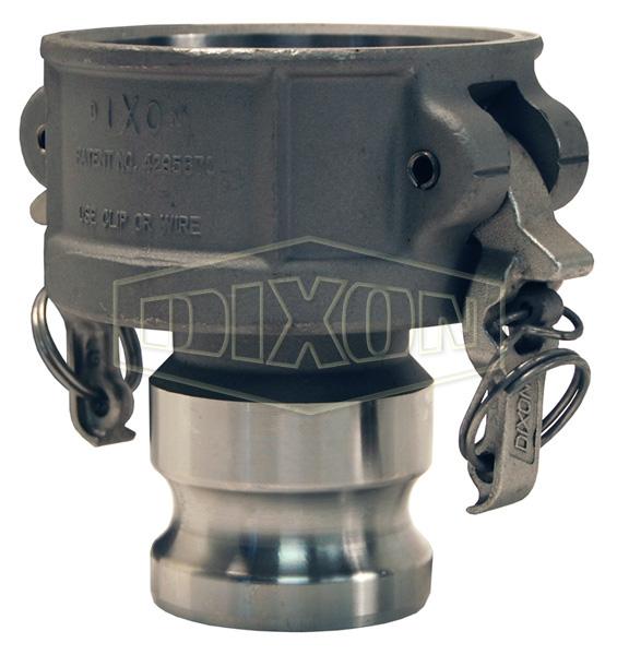 Boss-Lock™ Cam & Groove Jump Size Coupler x Adapter (Type DA)