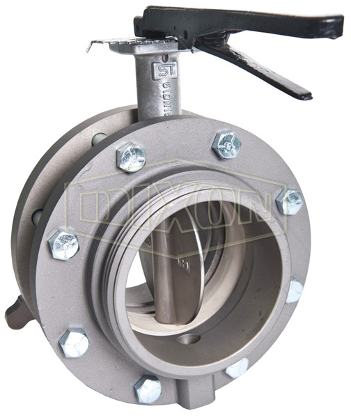 Aluminum Male x Female Swivel Butterfly Valve