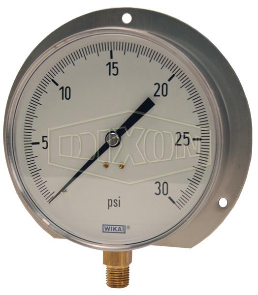 Contractor Pressure Gauge