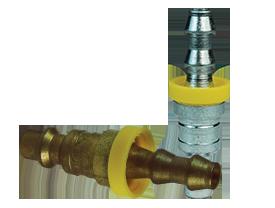 DF-Series Pneumatic Push-Loc Hose Barb Plug