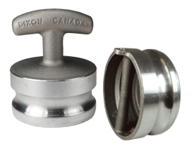 Dust Plug with Pull Handle for Hose Tubes