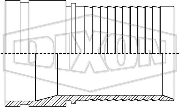 Holedall™ External Crimp Grooved Stem