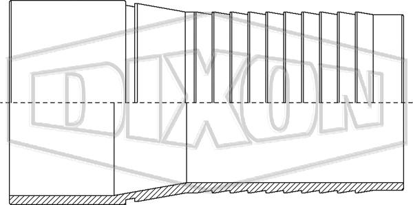 Holedall™ IX Plain End Stem for Welding
