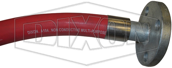 A104 Red Multi-Purpose Non-Conductive OGS Hose