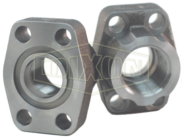 Hydraulic 4-Bolt Flange NPTF Port