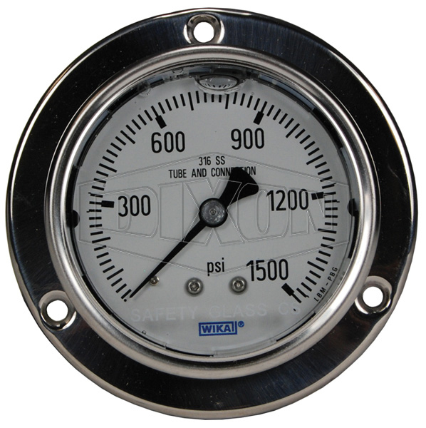 Stainless Panel Builder Gauge