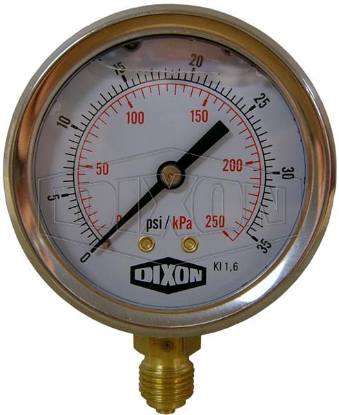 Dual Scale Pressure Gauge PSI/kPa