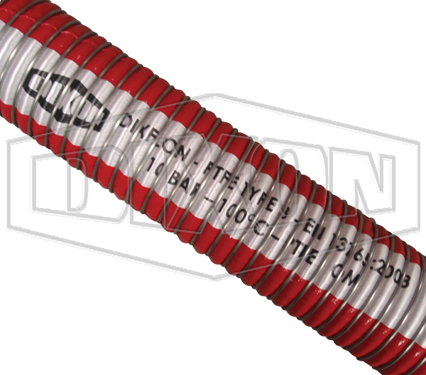 DIXFLON A911SG 14 Bar Composite PTFE Chemical Hose Assembly
