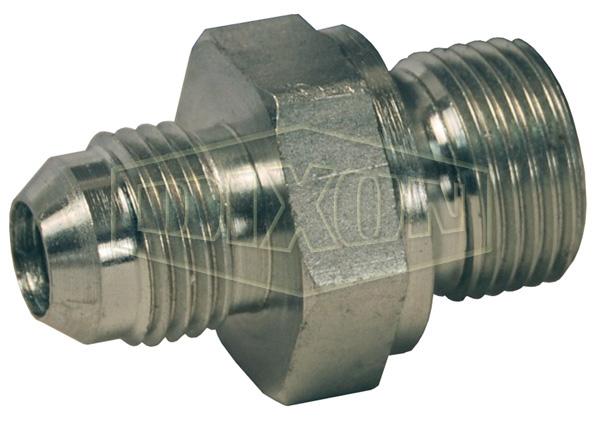 British Thread Adapter Male JIC 37° Flare x Male BSPP