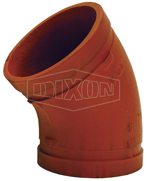 Grooved End 45° Elbow Fitting- Series 45