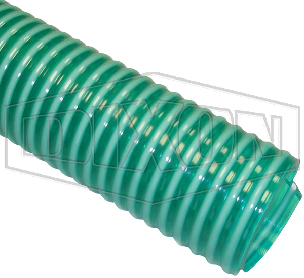 Delvac Green Spiral PVC Suction & Delivery Hose