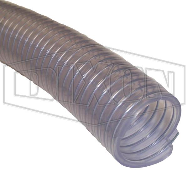 PREMVIN Transparent PVC Suction & Delivery Hose