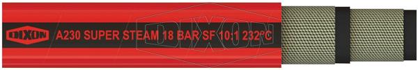 A230 18 Bar Red Super Steam Hose