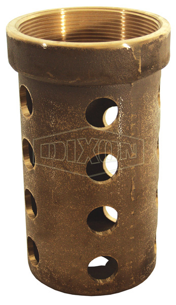 Brass Tank Round Hole Strainer