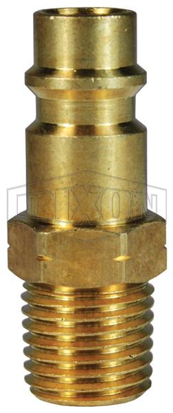 CJ-Series Pneumatic Male Threaded Plug