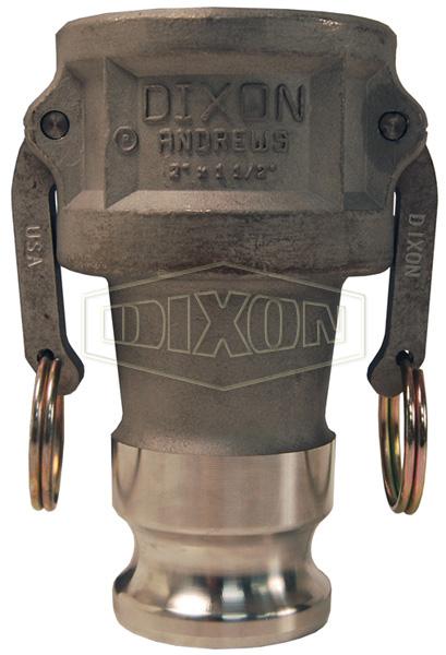 Dixon® Cam & Groove Reducing Coupler x Adapter (Type DA)