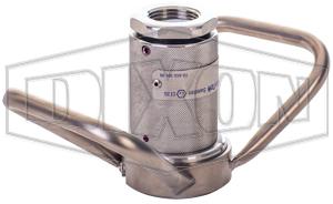 Dixon® Dry Disconnect Steam Coupler x Female NPT