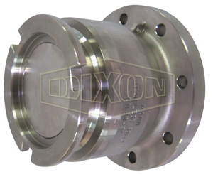 Dixon® Dry Disconnect Adapter Tank Unit x TTMA Flange