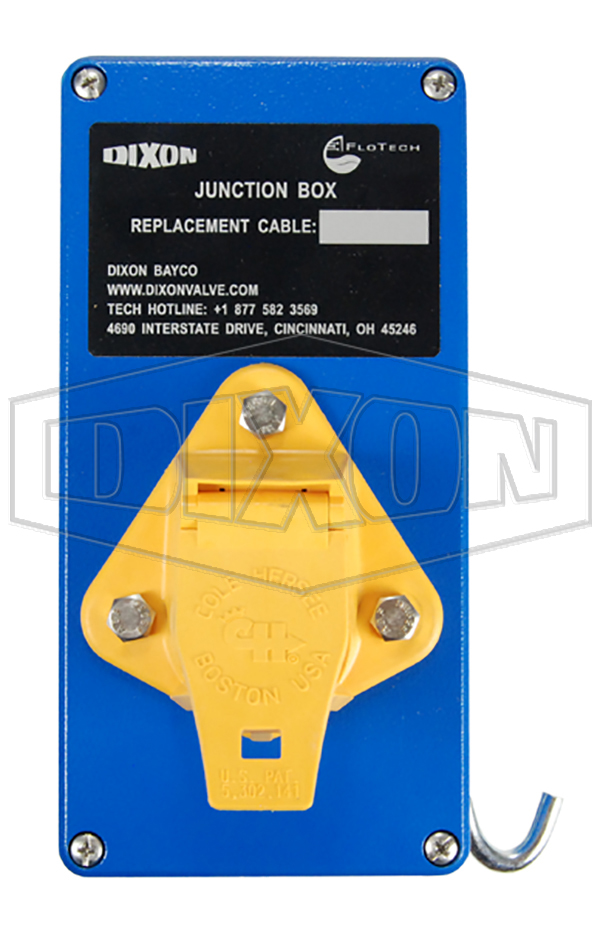 flotech junction box with yellow plug