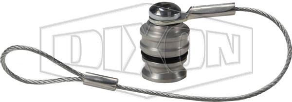 DQC H-Series ISO-B Rigid Dust Plug