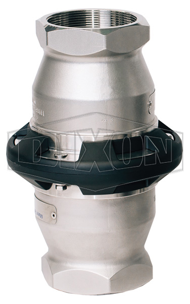Dixon® Safety Break-away Coupling Industrial Female NPT