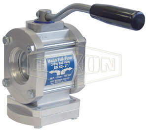 Dixon® Two-Way Full Flow Ball Valve Socket Weld
