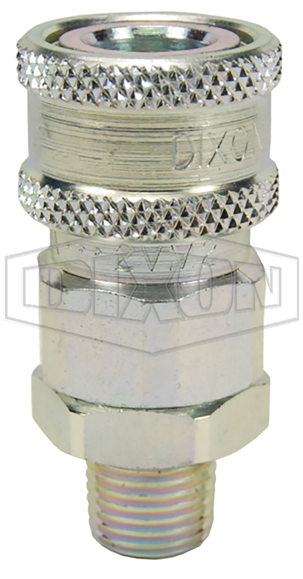 v series hydraulic couplings quick disconnects hydraulic fittings snap tite h ih interchange valved male threaded coupler steel
