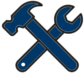tools icon blue